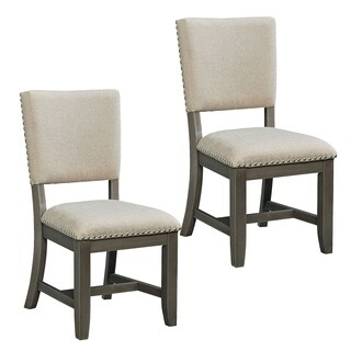 Omaha Grey Upholstered Dining Chair