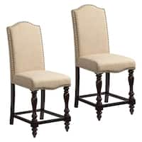 McGregor Upholstered Counter-height Stool (Set of 2)
