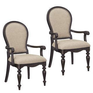 Cambria Upholstered Arm Chairs (Set of 2)