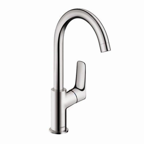 Shop Hansgrohe Logis Single Hole Bathroom Faucet 71130001 Chrome ...