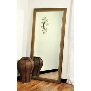Bronze Wood Trail Floor Mirror