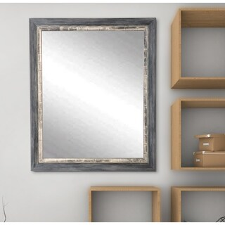 Multi Size BrandtWorks Weathered Harbor Wall Mirror - cream/white/weathered