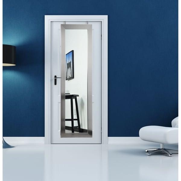 Modern 21.5 x 71 - Inch Over the Door Full Length Mirror