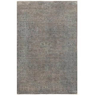 Herat Oriental Afghan Hand-knotted Over-dyed Oushak Wool Rug (3'2 x 4'11)