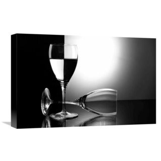 Global Gallery Madras91 'Glasses' Stretched Canvas Artwork