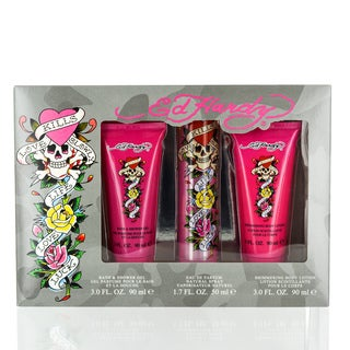 Ed Hardy Women's 3-piece Gift Set