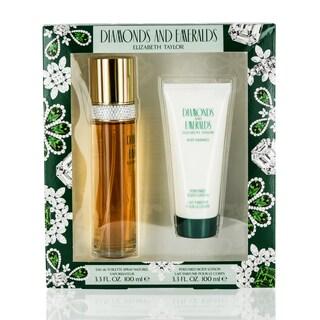 Elizabeth Taylor Emeralds & Diamonds Women's 2-piece Fragrance Set