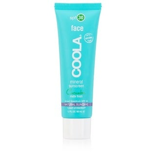 Coola Mineral Face 1.7-ounce Matte Sunscreen Lotion SPF 30