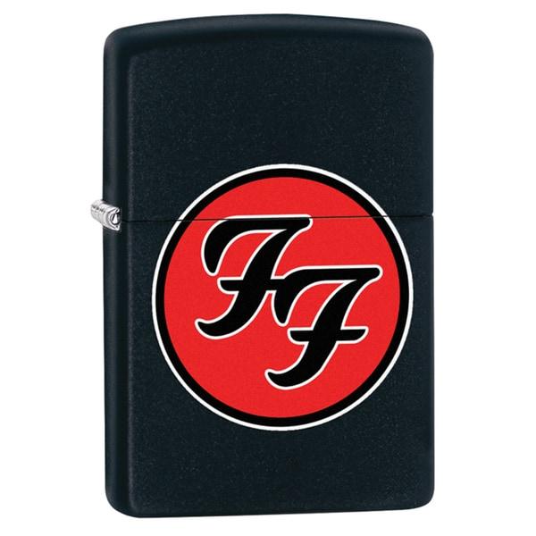 Zippo Foo Fighters Black Matte Windproof Lighter