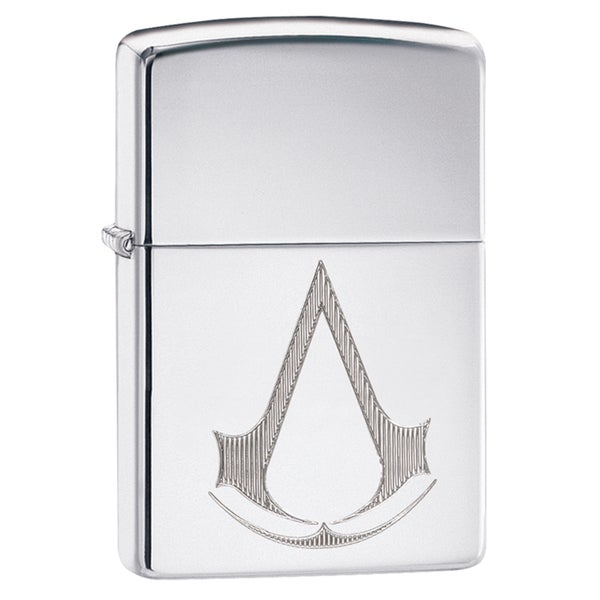 Zippo Assassin's Creed High Polish Chrome Windproof Lighter