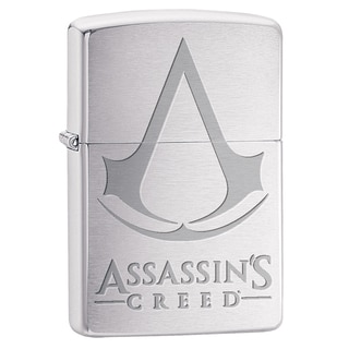 Zippo Assassin's Creed Brushed Chrome Windproof Lighter