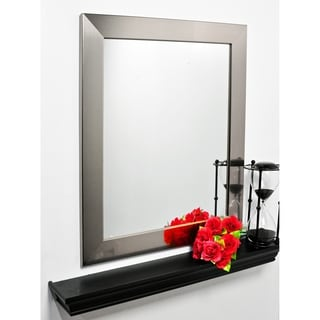 Nickel Silver Vanity Mirror