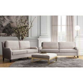 Hartford Beige Linen Living Room Set