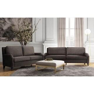 Hartford Grey Linen Living Room Set