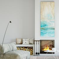 Carol Robinson 'Misty View I' Canvas Premium Gallery-wrapped Wall Art