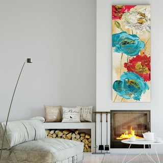 Wexford Home 'Poppy Spirit II' 3 Sizes Available Premium Gallery Wrapped Canvas