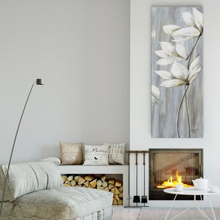 Maria Donovan 'Silver Spring III' Canvas Premium Gallery-wrapped Wall Art