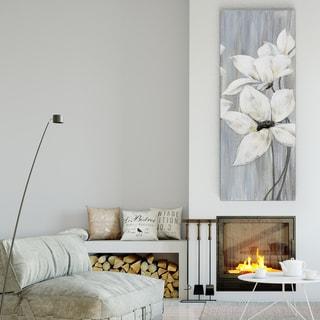 Maria Donovan 'Silver Spring II' Premium Gallery Wrapped Canvas