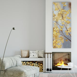 Wexford Home 'Forsythia Garden II' Premium Gallery-Wrapped Canvas Wall Art