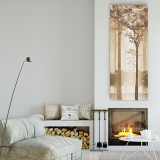 Conrad Knutsen 'Forest Light II' Premium Gallery Wrapped Canvas (3 Sizes Available)