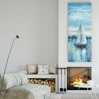 Nan 'Evening Bay II' Premium Gallery Wrapped Canvas (3 Sizes Available)