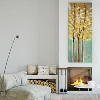 Susan Jill 'Shandelee Woods II' Canvas Premium Gallery-wrapped Wall Art