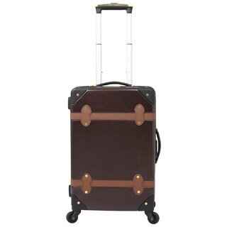 Chariot Titanic 20-inch Hardside Upright Spinner Carry-On Suitcase (Option: Brown)