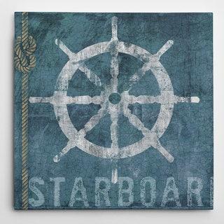Conrad Knutsen 'Starboard' Canvas Wall Art