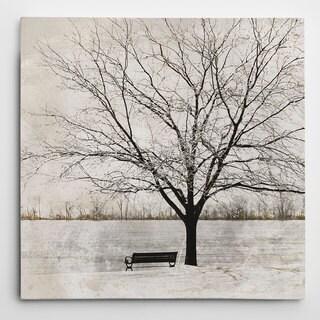 Eugene Tava 'Lonely Tree' Canvas Wall Art