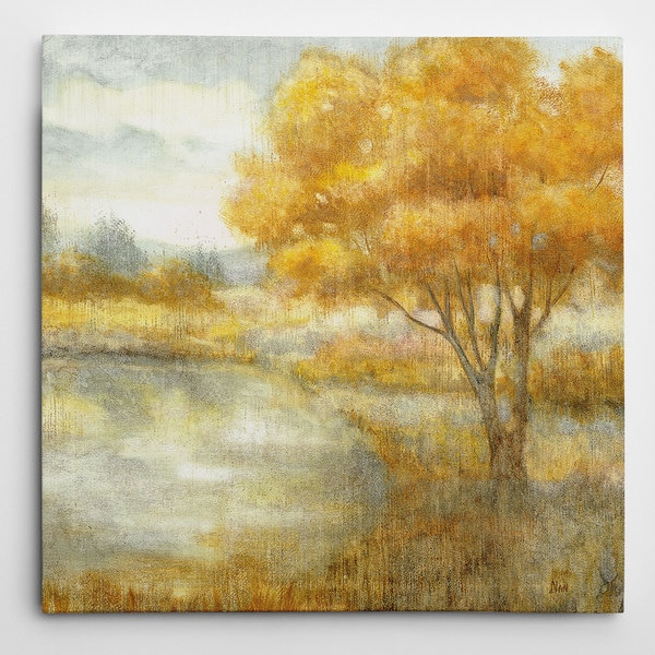 Wexford Home 'Golden Landscapes' Gallery Wrapped Canvas Wall Art