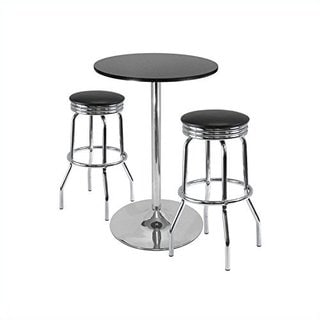 """Summit 3-Pc Pub Table Set, 28"""" Table and 2 Stools"""