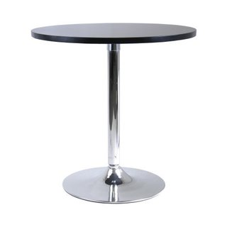 Spectrum 29-inch Round Dinning Table with Metal Leg