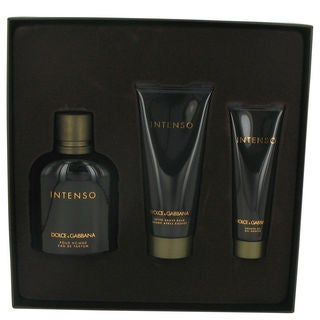 Dolce Gabbana Intenso Men's 3-piece Gift Set