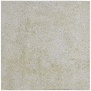SomerTile 12.75x12.75-inch Clinker Retro Blanco Quarry Floor and Wall Tile (6/Case, 7.04 sqft.)