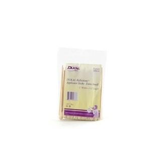 Dukal Reflections Wax-Body Treatment 100-count Applicator Sticks