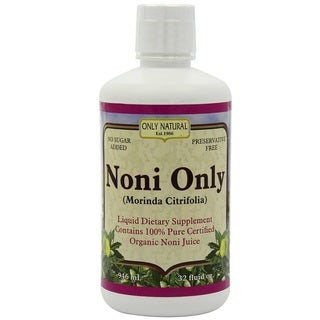 Only Natural 32-ounce Organic Noni Juice