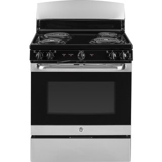 GE Stainless Steel 30-inch Free-Standing Electric Range with Oven