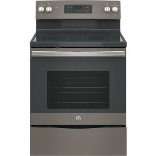 GE Slate Grey 30-inch Free-Standing Electric Range