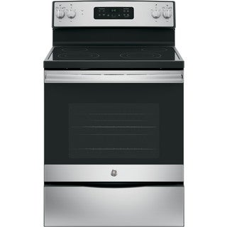 GE Stainless Steel 30-inch Free-Standing Electric Range