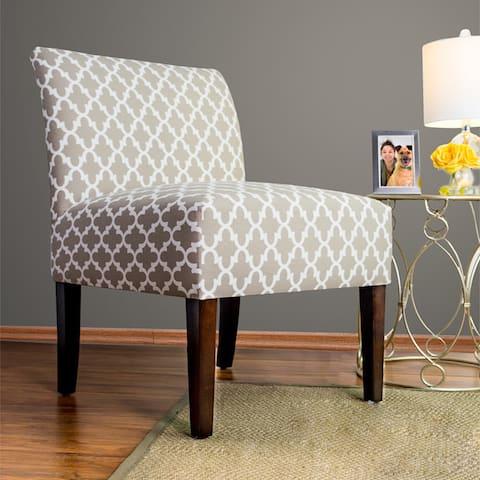 SAMANTHA Fulton - Espresso Leg - Accent Chair by MJL Furniture Designs