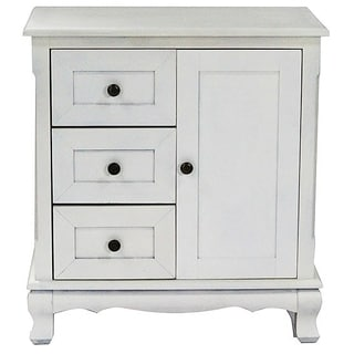 Pinecrest Collection Modern Farmhouse 3-drawer Accent Cabinet