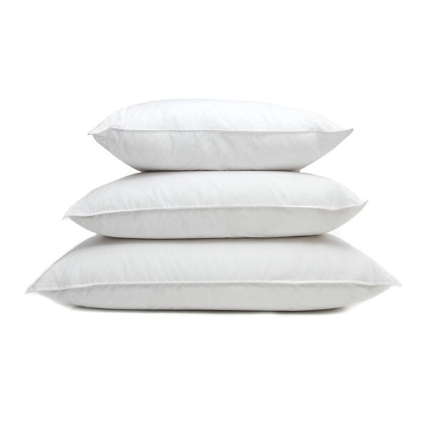 Ogallala Hypodown Pearl White 800-fill Firm Goose Down Pillow