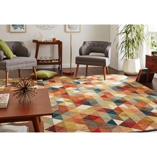 Link to Mohawk Home Diamonte Woven Area Rug Similar Items in Transitional Rugs