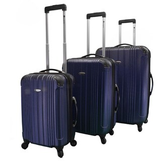 Dumont 3-Piece Hardside Expandable Lightweight Spinner Luggage Set