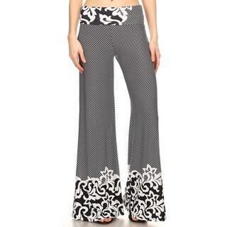 Women's Mixed Paisley Pattern Pants https://ak1.ostkcdn.com/images/products/14279173/P20864440.jpg?_ostk_perf_=percv&impolicy=medium