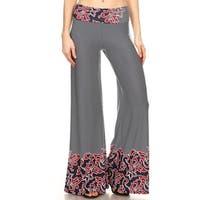 Women's Mixed Paisley Pattern Pants