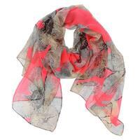 LA77 Women's Floral-patterned Scarf