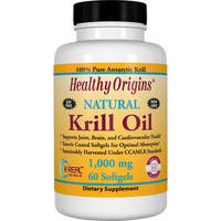 Healthy Origins Krill Oil 1000 mg (60 Softgels)