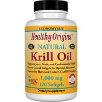 Healthy Origins Krill Oil 1000 mg (120 Softgels)