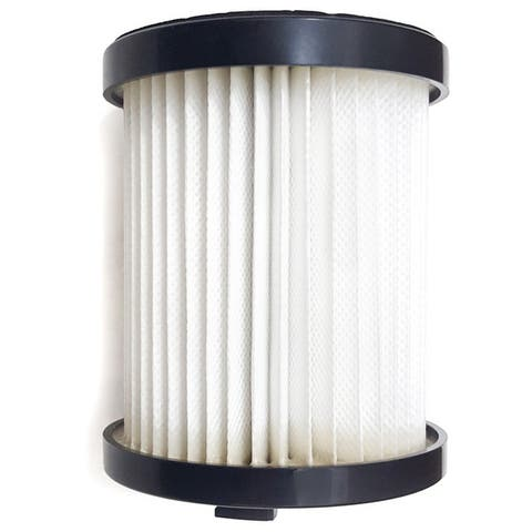 Pre and Post HEPA Filter for Prolux 2.0 Bagless Backpack Vacuum - White